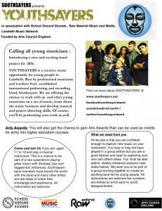 youthsayers info sheet